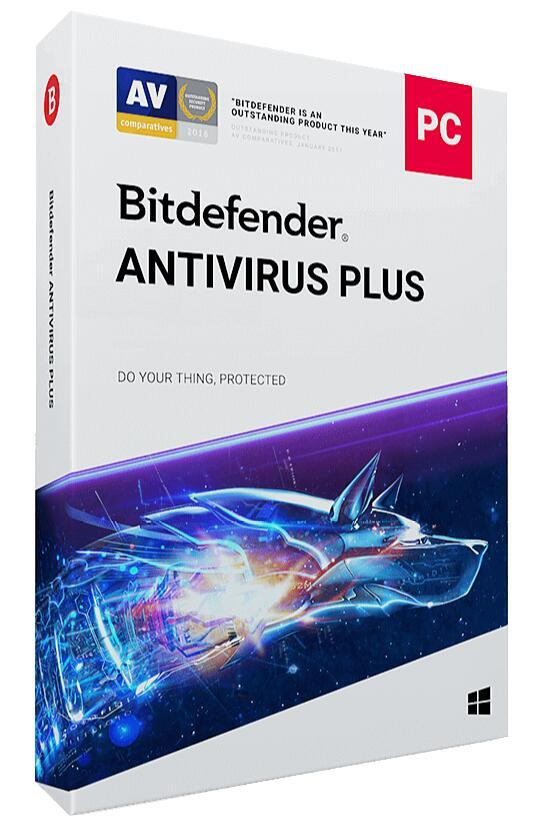 Bitdefender Anivirus Plus 2019