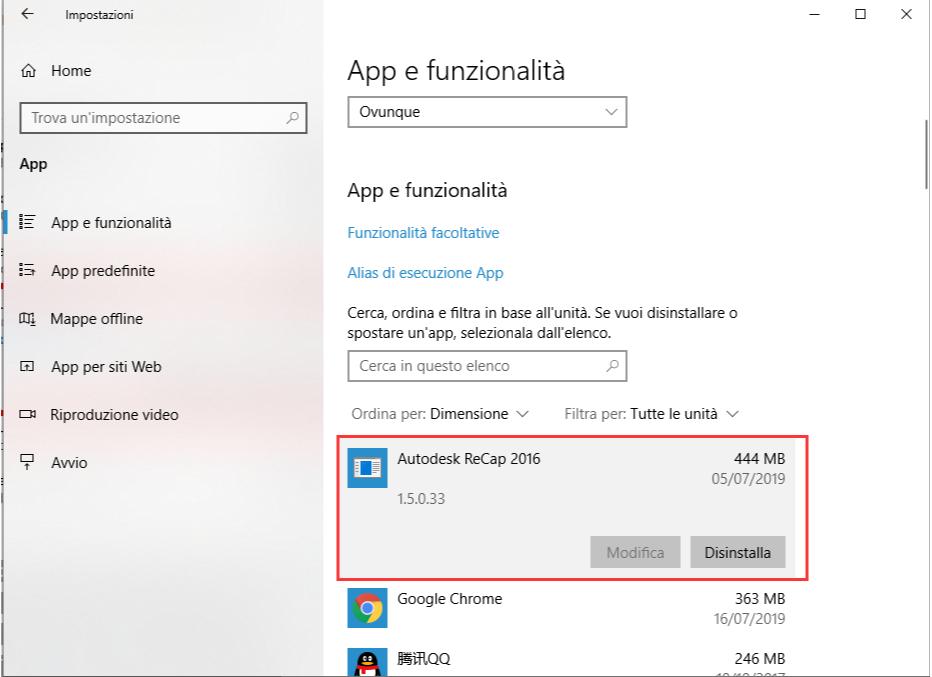 Windows 10 con Powershell