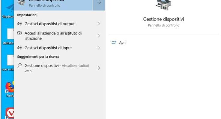 Come disabilitare il Touch Screen su Windows 10