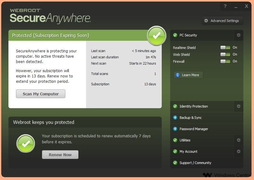 SecureAnywhere AntiVirus