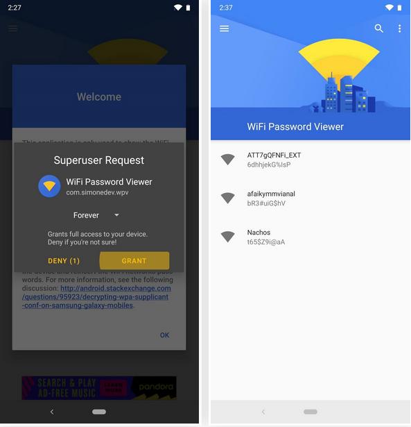 Come trovare la password di una rete Wi-Fi su Android