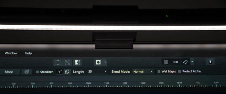 La BenQ ScreenBar LED Lamp