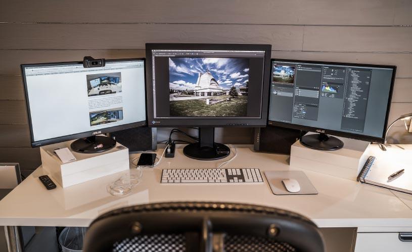 la dimensione del monitor