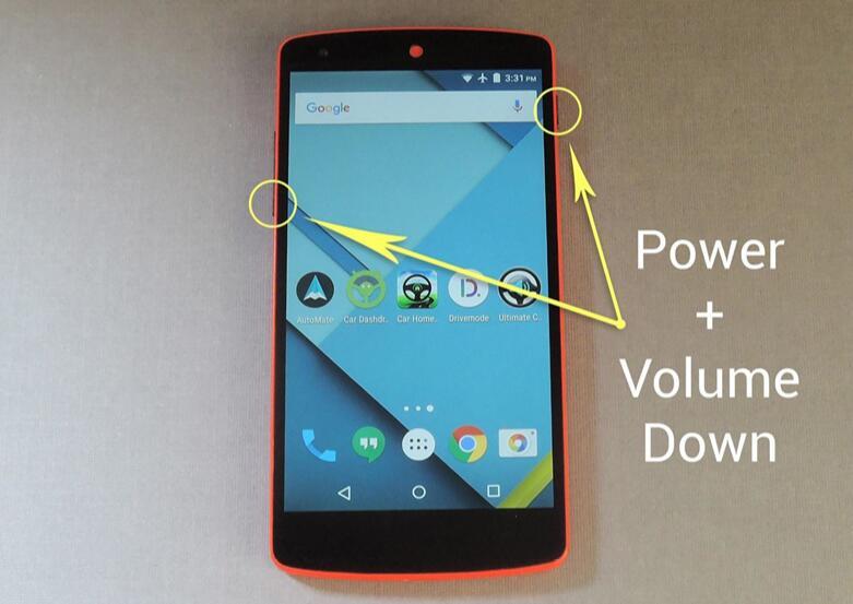 Fare uno screenshot su Android