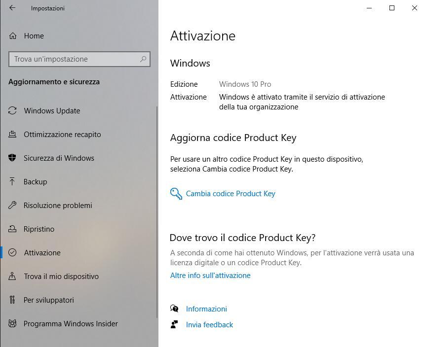 Passare da Windows 7 a Windows 10