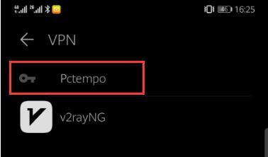 Configurare una VPN