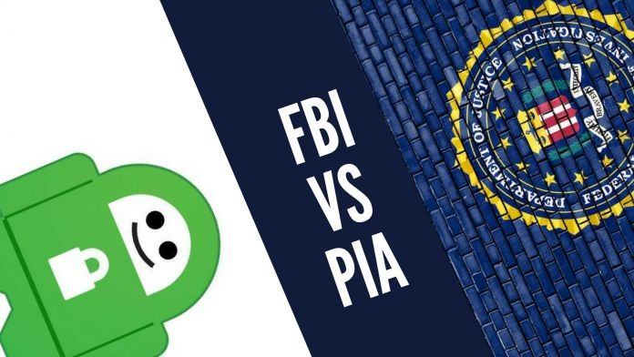 Private Internet Access contro l'FBI